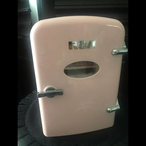 Retro RCA Pink Mini Refrigerator New in box